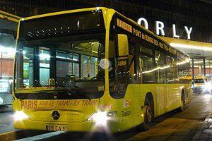 Автобусы из аэропорта в Париже