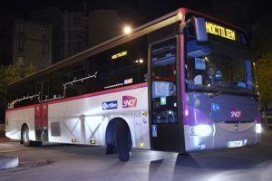 Ночные автобусы в Париже